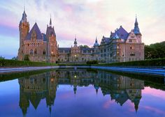 Moszna Castle Of Poland