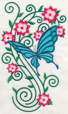 Machine Embroidery Designs at Embroidery Library! - Color Change - J7044 41814