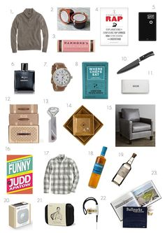 Gift Guides 2013: For Him