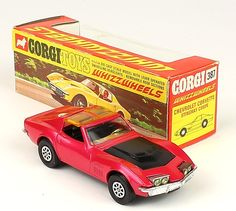 Corgi Toys 387 Corvette Stingray Scarce Pink Whizzwheels