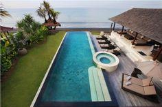 Medahan luxury holiday rental, Rosita Beachfront | Amazing Accom Bali Luxury Villas, Luxury Accommodation, Luxury Holidays, Swimming Pools, Tropical, Amazing, Places, Outdoor Decor, Swiming Pool