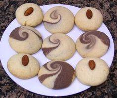 Treat a Week Recipes: Cardamom Chocolate Shortbread (Nan Khatai)