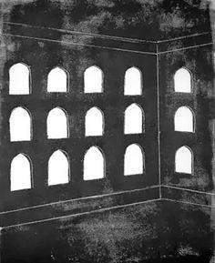 Tadeusz Deręgowski | Arched Windows, 2008, monoprint