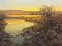 Reflected Light by Kim Casebeer Oil ~ 18 x 24