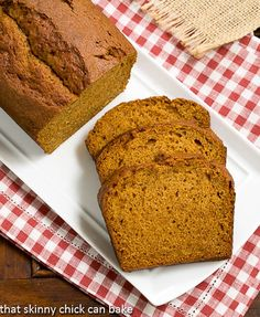 Classic Pumpkin Bread | Moist, dense and perfectly spiced @lizzydo