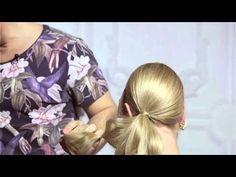 Экспресс прическа с резинками! (урок №7) - YouTube