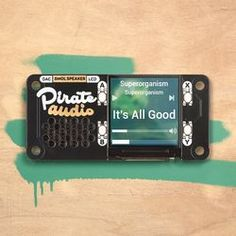 Got a Raspberry Pi Zero W that you'd love to add quality audio to, or even one of the other Pi versions that needs an audio upgrade? These Pirate Audio add-on cards are just the thing - a Raspberry Pi sound card with IPS display and on-board controls! Raspberry Pi Os, Pirate Makeup, Arcade, Hifi Amplifier, Hobby Electronics, Tech Updates, Audio Speakers, Digital Audio, Sound Effects