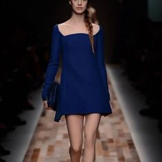 Valentino Royal Blue Dress