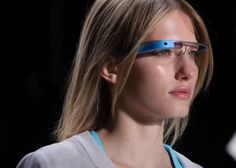 This picture shows the Google Glasses. They are a great technology that helps you do everything.