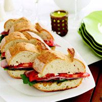 Ham and Gorgonzola Sandwiches