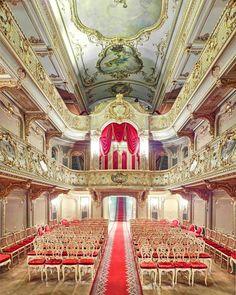 Yusopf Theatre (Czar Box), St. Petersburg, Russia.