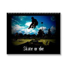 Skateboarding Calendar