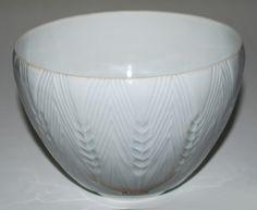 Lisbeth Munch Petersen, bowl in porcelain, Bing & Gröndahl Denmark.