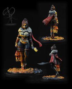 SpiralingCadaver: Sword-of a Problem - Kingdom Death Hand and continued Seven Swordsmen campaign