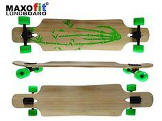Sale Preis: MAXOfit Deluxe Longboard Bamboo Race 9 Schichten Maple, 107 cm, or-19004. Gutscheine & Coole Geschenke für Frauen, Männer und Freunde. Kaufen bei http://coolegeschenkideen.de/maxofit-deluxe-longboard-bamboo-race-9-schichten-maple-107-cm-or-19004