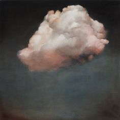 Barnard Gallery_Robyn Penn_Cloud of on x 100 cm African, Oil On Canvas, Artist, Canvas, South African, Clouds, Unknow