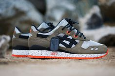 "Image of An Exclusive Look at the BAIT x ASICS Gel Lyte III ""Basics Model-002 Guardian"""
