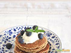 pancakes alle mele e erba madre #ricette #food #recipes