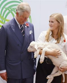 Royals, koalas, and sheep, oh my! Charles, Camilla get close to wildlife (Pool / Reuters)