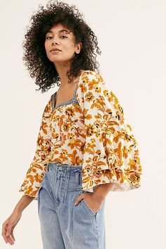 Blooming Borders Bodysuit by Intimately at Free People, White, XS Hippie Lifestyle, Lifestyle Clothing, Curvy Outfits, Casual Outfits, Boho Fashion, Fashion Outfits, Spring Fashion, Fashion Ideas, Tumblr Outfits