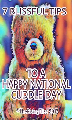 Cuddles increase Happiness, Positivity, Love and Well being.
