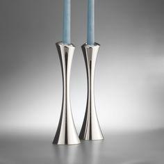 Nambe Aquila Candlesticks