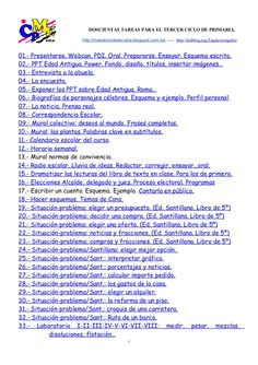 A. doscientas tareas para ti. 2014.1 by Alfonso Cortes Alegre via slideshare