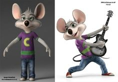 The NEW Chuck E. Cheese