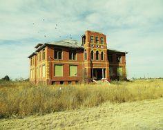 Old School House - Toyah TX
