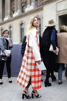 Paris Fashion Week Street Style What They AreWearing