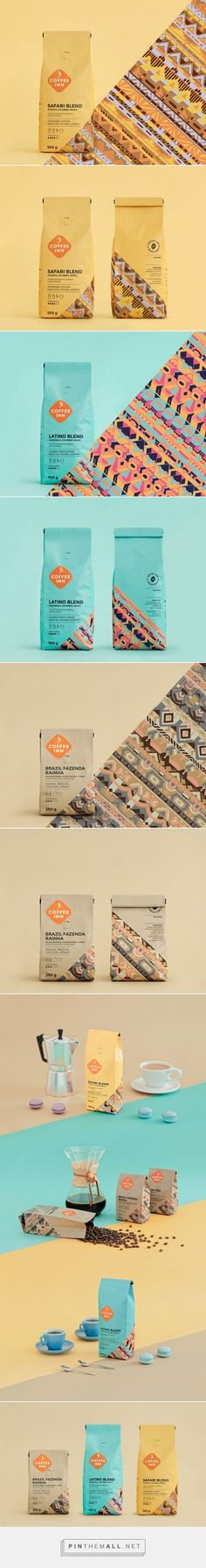 Coffee Inn - Packaging of the World - Creative Package Design Gallery - http://www.packagingoftheworld.com/2016/08/coffee-inn.html