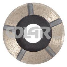 Anel Diamantado para concreto - desbaste de concreto - polimento de concreto - piso de concreto - ferramentas diamantada - Anel diamantado Grão: 46 / 70 - www.colar.com