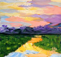 Fine Art Original Oil Painting by rebeccacroftstudios on Etsy, $75.00