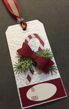 Trendy Ideas for holiday cards handmade paper crafts gift tags Diy Christmas Tags, Christmas Paper Crafts, Holiday Gift Tags, Noel Christmas, Christmas Gift Wrapping, Handmade Christmas, Holiday Cards, Xmas Gifts, Handmade Gift Tags