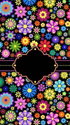 Flores Cute Wallpapers, Wallpaper Backgrounds, Iphone Wallpaper, Flowery Wallpaper, Mexican Party, Binder Covers, Flower Wall, Folk Art, Backdrops