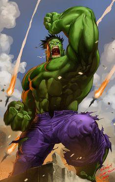 #Hulk #Fan #Art. (Hulk_Ardian-syaf) By: Blewh. [THANK U 4 PINNING!!]