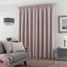 Curtain Styles, Aesthetic Rooms, Pleated Curtains, Curtains, Luxury Curtains Living Room, Luxury Curtains, Beautiful Drapes, Blush Curtains, Beautiful Living Rooms