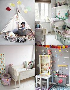 Habitaciones infantiles bohemias