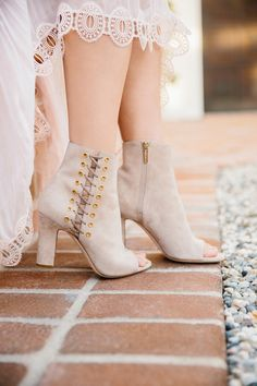 The perfect suede booties