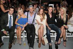 "Landon Ledford, Nell Skylar, Glenn Pakulak, Courtney Kerr,    Daylon Periera and Tara Harper from Bravo TV's ""Most Eligible Dallas"""