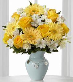 Mothers Charm Bouquet - Boy