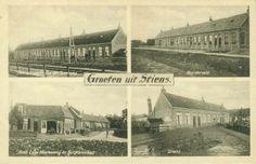 Oude ansichtkaart van Stiens