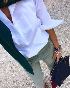 """4,229 Likes, 119 Comments - A. (@andattitude) on Instagram: """"WHITE SHIRT PASSION! ________________________________________"""""""