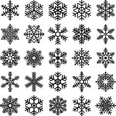 Flocos de Neve clipart e shappe Felt Christmas, Christmas Projects, Christmas Ornaments, Small Tattoo Designs, Small Tattoos, Christmas Ornament Template, Snow Flake Tattoo, Simple Snowflake, Handmade Wire Jewelry