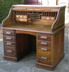 This is similar to the newest addition to my room. I adore my roll top desk!