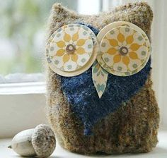 Owl Plushies by Night owl paper goods