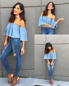 If so then you are going to want to have a look through this article to figure out how to build. Stylish Summer Outfits, Casual Outfits, Cute Outfits, Fashion Outfits, Womens Fashion, Fashion Trends, Alejandra Espinoza, Looks Jeans, Cool Style