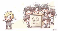 cute cute cute cute #infinite pixies  #sunggyu #dongwoo #woohyun #hoya #sungyeol #myungsoo #sungjong