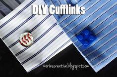 DIY Cufflinks DIY Men Fashion DIY Crafts
