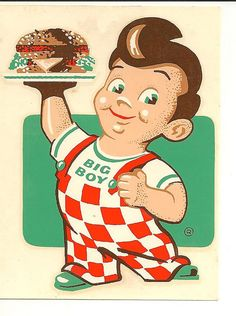 I remember Bob's Big Boy in the San Fernando Valley.There were three we would go to on Wednesday Cruise Night in the mid 60's. Canoga Park Bob's, then cruse Van Nuys Blvd. to Van Nuys Bob's, then back to Balboa Bob's on Balboa Blvd. to hang out on the grass in front until you got a table. Loved their Bob's Big Boy Hamburger, French fries dipped in their Roquefort Dressing and a Coke.